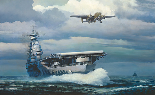 Rising into the Storm, William S. Phillips MASTERWORK CANVAS EDITION