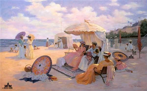 A Day at the Beach - France