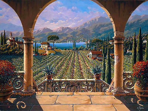 Lakeside Vineyard by Bob Pejman