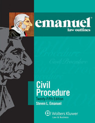 EMANUEL LAW OUTLINES: CIVIL PROCEDURE - GENERAL EDITION 2014  9781454840886