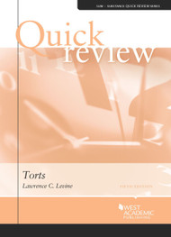 LEVINE'S QUICK REVIEW OF TORTS (5TH, 2014)