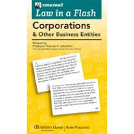 LAW IN A FLASH CARDS: CORPORATIONS 2013