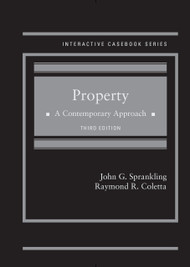 SPRANKLING'S PROPERTY A CONTEMPORARY APPROACH (3RD, 2015) 9781628101980