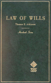 ATKINSON'S WILLS (2ND,1953) (HORNBOOK SERIES) 9780314283337
