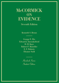 McCORMICK'S EVIDENCE (7TH, 2014) (HORNBOOK SERIES) 9780314290250