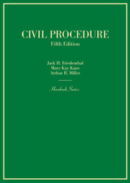 FRIEDENTHAL'S CIVIL PROCEDURE (5TH, 2015) (HORNBOOK SERIES) 9780314290380