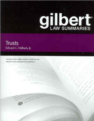 HALBACH'S GILBERT LAW SUMMARIES ON TRUSTS (13TH, 2007)  9780314181121