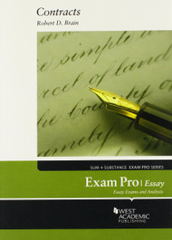 BRAIN'S EXAM PRO ON CONTRACTS, ESSAY (2014)