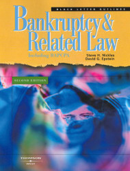 BLACK LETTER OUTLINE ON BANKRUPTCY AND RELATED LAW (2ND, 2006) 9780314065797