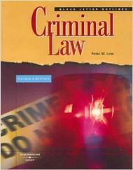LOW'S BLACK LETTER OUTLINE ON CRIMINAL LAW (3RD, 2007)