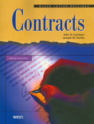 PERILLO'S BLACK LETTER OUTLINE ON CONTRACTS (5TH, 2010) 9780314926937