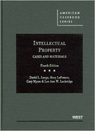 LANGE'S INTELLECTUAL PROPERTY, CASES AND MATERIALS (4TH, 2012) 9780314906861