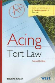 GHOSH'S ACING TORT LAW (2ND, 2012)