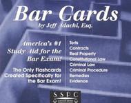 ADACHI'S BAR CARDS