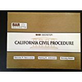 BAR SECRETS: CALIFORNIA CIVIL PROCEDURE (OUTLINE)