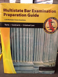 ROBERT CARP'S MULTISTATE BAR EXAMINATION PREPARATION GUIDE VOL 1 9780983471417