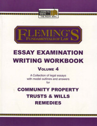 FLEMING'S ESSAY EXAMINATION WRITING WORKBOOK VOL. 4 2005