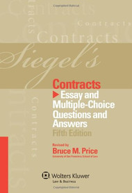 SIEGEL'S: CONTRACTS (2012)