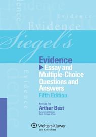 SIEGEL'S: EVIDENCE (2012)