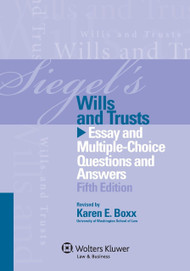 SIEGEL'S: WILLS & TRUSTS (2013)