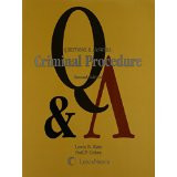 KATZ'S Q&A ON CRIMINAL PROCEDURE 2E 2009