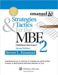 EMANUEL'S STRATEGIES & TACTICS FOR THE MBE 2 (2ND, 2013) [O/E] 9781454809937