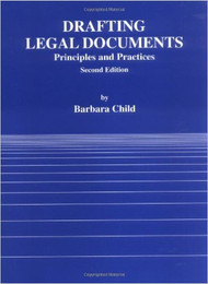 DRAFTING LEGAL CONTRACTS (2ND, 2001) 9780314003256