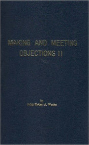 WENKE'S MAKING & MEETING OBJECTIONS (REVISED 2ND, 2013)  9781933408095