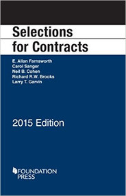 FARNSWORTH'S SELECTIONS FOR CONTRACTS (2015 EDITION)  9781634594653
