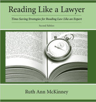 McKINNEY'S READING LIKE A LAWYER (2ND, 2012) 9781611631104