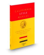 JESSEN'S CALIFORNIA STYLE MANUAL (4TH, 2000) 9780314233707