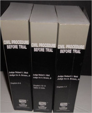 RUTTER: CIVIL PROCEDURE BEFORE TRIAL (2016) STUDENT EDITION
