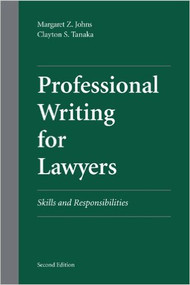 PROFESSIONAL WRITING FOR LAWYERS (2ND, 2012)