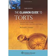 HASEN'S GLANNON GUIDE TO TORTS 3RD EDITION