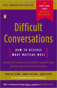 STONE'S DIFFICULT CONVERSATIONS (2010) 9780143118442