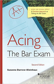 DARROW-KLEINHAUS' ACING THE BAR EXAM (2ND, 2016) 9781634608060