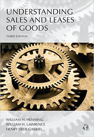 HENNING'S UNDERSTANDING SALE AND LEASES OF GOODS 3RD