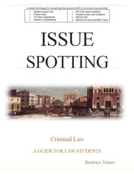 TAINES' ISSUE SPOTTING: CRIMINAL LAW