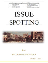TAINES' ISSUE SPOTTING: TORTS