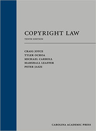 JOYCE'S COPYRIGHT LAW (10TH, 2016) 9781632847874