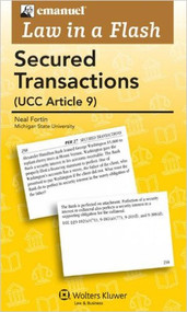 LAW IN A FLASH CARDS: SECURED TRANSACTIONS
