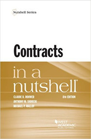 ROHWER'S CONTRACTS IN A NUTSHELL (8TH, 2016) 9781634599146