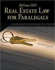 MCGRAW-HILL'S REAL ESTATE LAW FOR PARALEGALS (2008) 9780073376950