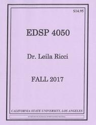 RICCI'S EDSP 4050 (FALL 2017)