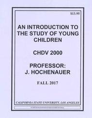 HOCHENAUER'S CHDV 2000 (FALL 2017)