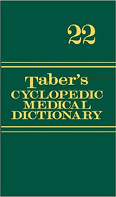 TABER'S CYCLOPEDIC MEDICAL DICTIONARY (22ND, 2013) 9780803629776
