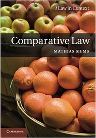 SIEMS' COMPARATIVE LAW (2014)(PAPERBACK) 9780521177177
