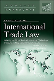 FOLSOM'S INTERNATIONAL TRADE LAW 2ND ED (2017) (CONCISE HORNBOOK SERIES) 9781640201408