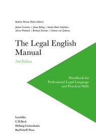 THE LEGAL ENGLISH MANUAL (2ND, 2017) 9780970608888