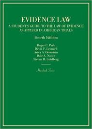 PARK'S EVIDENCE LAW HORNBOOK (4TH, 2017) 9781634609357